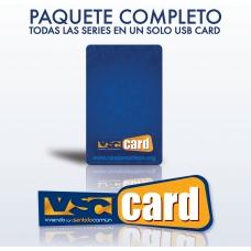 Paquete Completo de USBs Cards